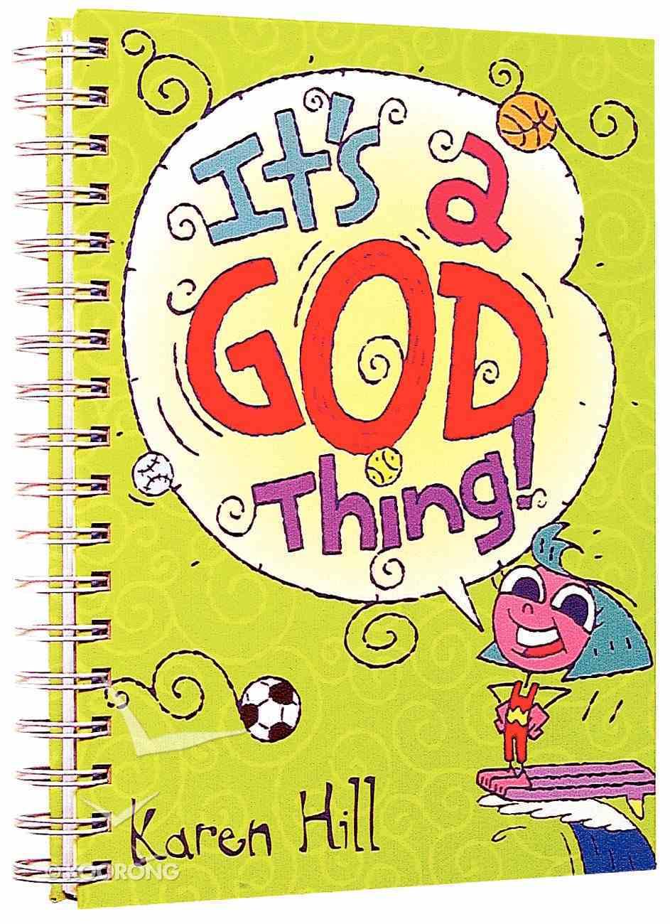 It's a God Thing Journal (Girly Sporty) Hardback