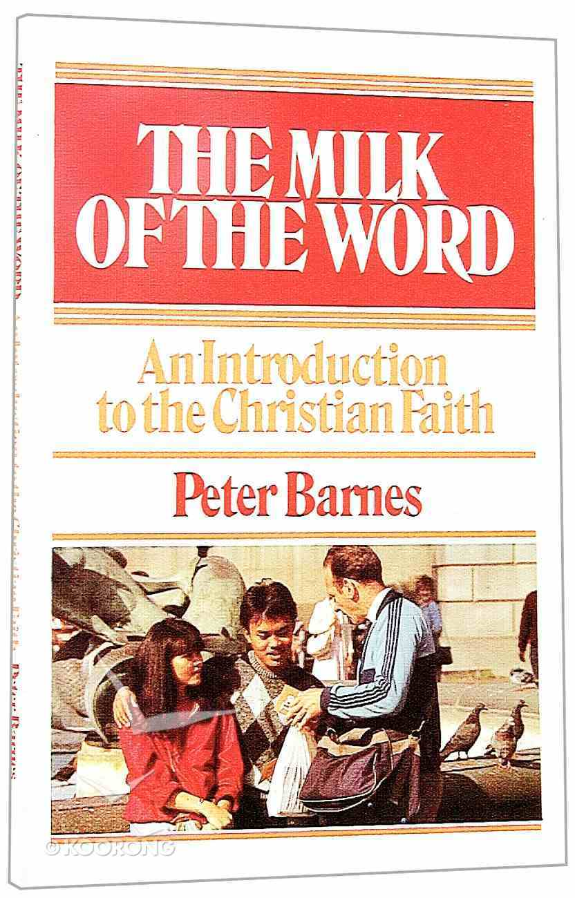 The Milk of the Word Paperback