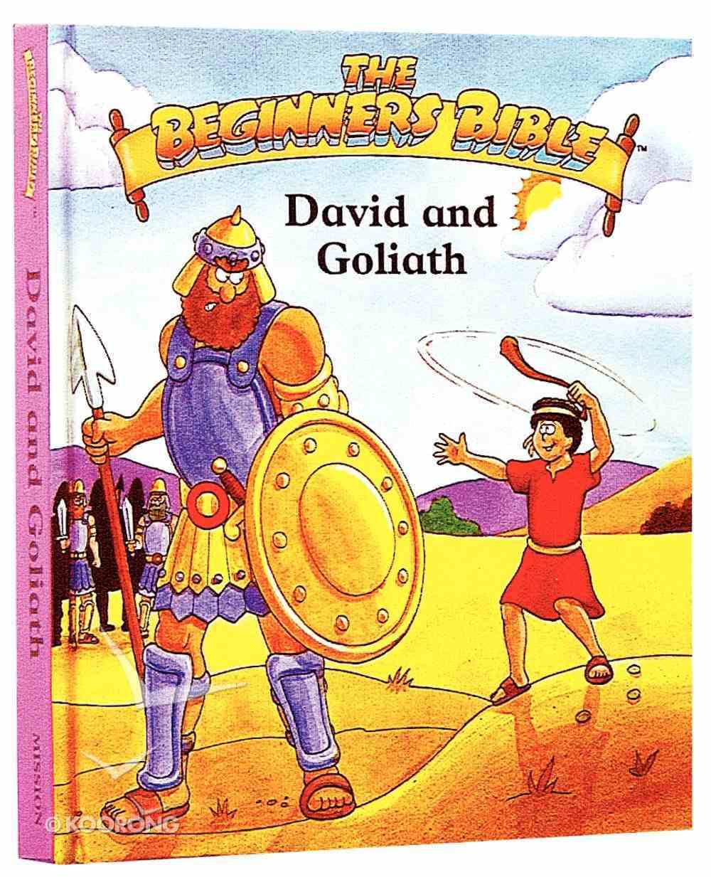 David and Goliath (Beginner's Bible Series) Hardback
