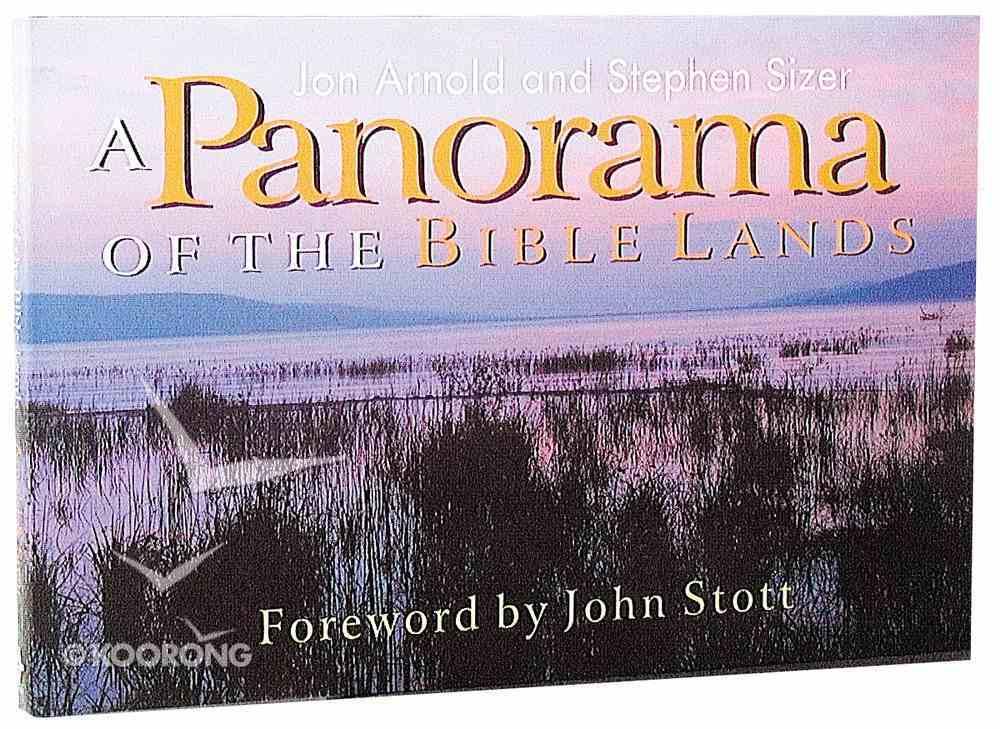 Panorama of the Bible Lands Hardback
