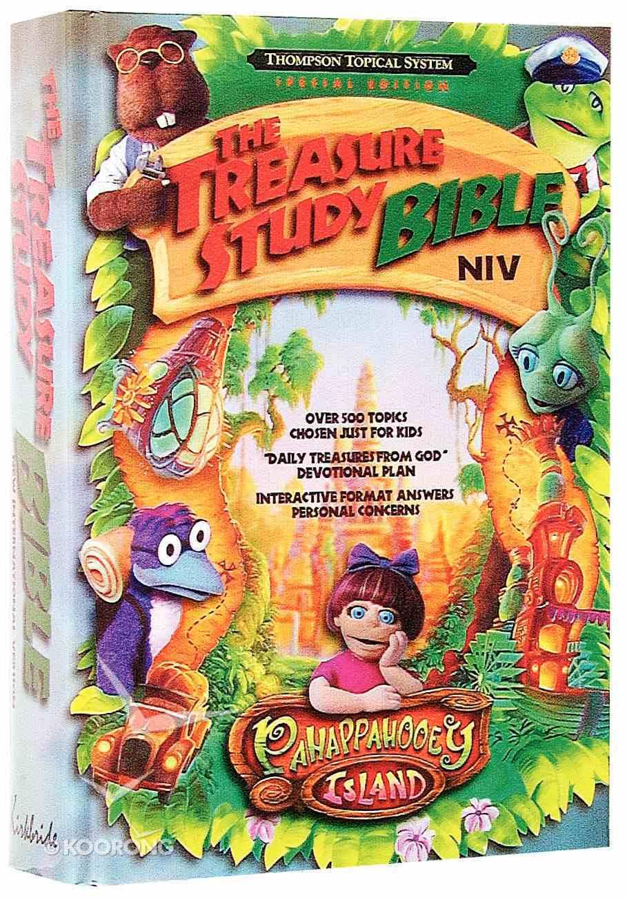 NIV Pahappahooey Treasure Study Bible Hardback