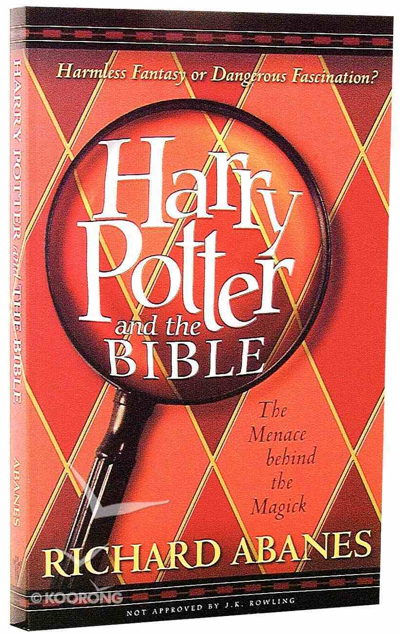 Harry Potter and the Bible Paperback