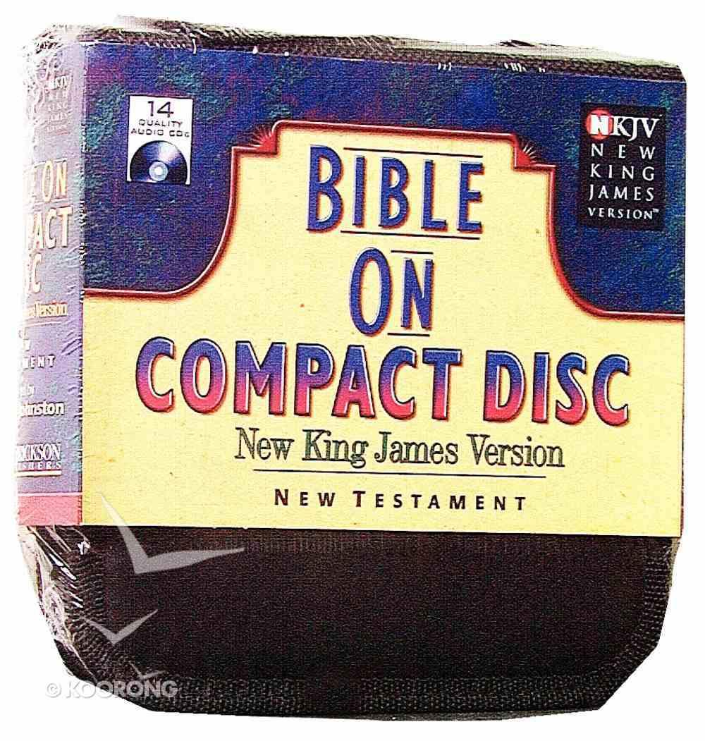 NKJV New Testament on Compact Disc Black Nylon Case Stephen Johnston CD