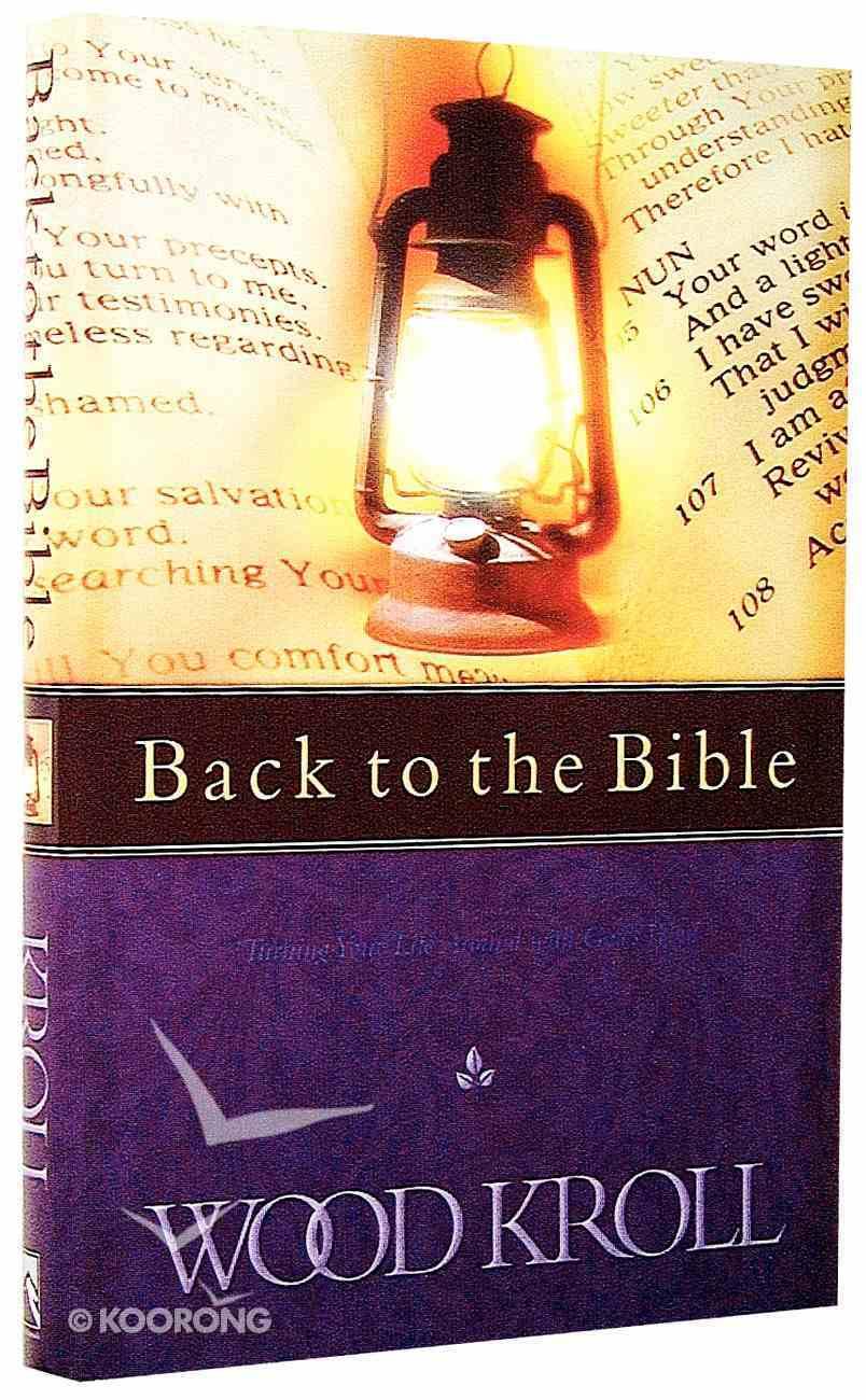 Back to the Bible Hardback
