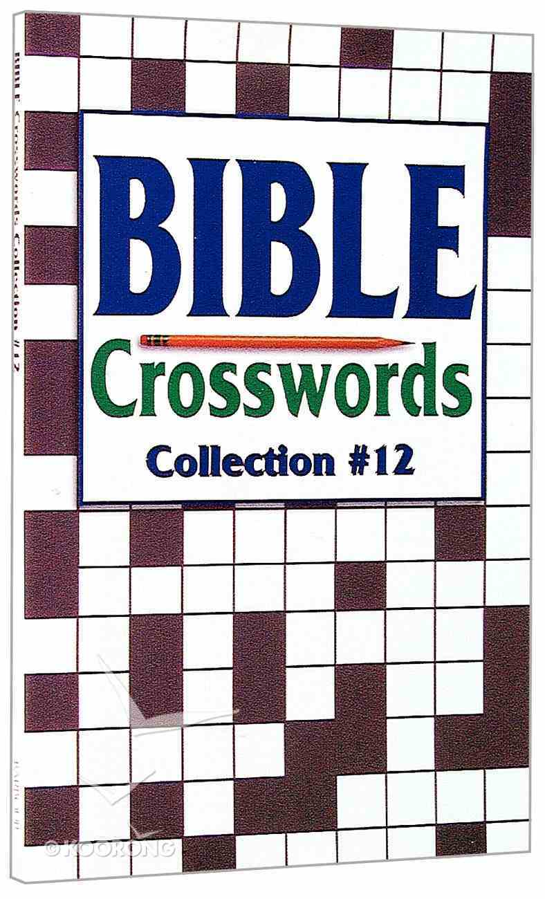 Bible Crosswords Collection 12 Paperback