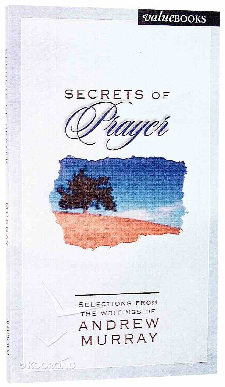 Secrets of Prayer Paperback