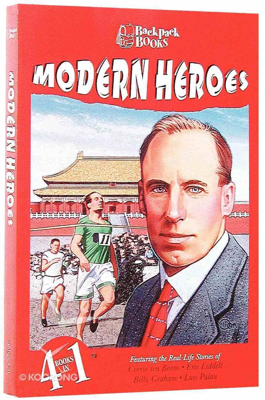 Modern Heroes (Barbour Backpack Books Series) Paperback