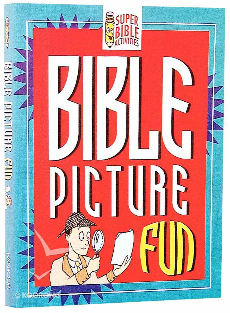 Bible Picture Fun (Super Bible Activities Series) Paperback