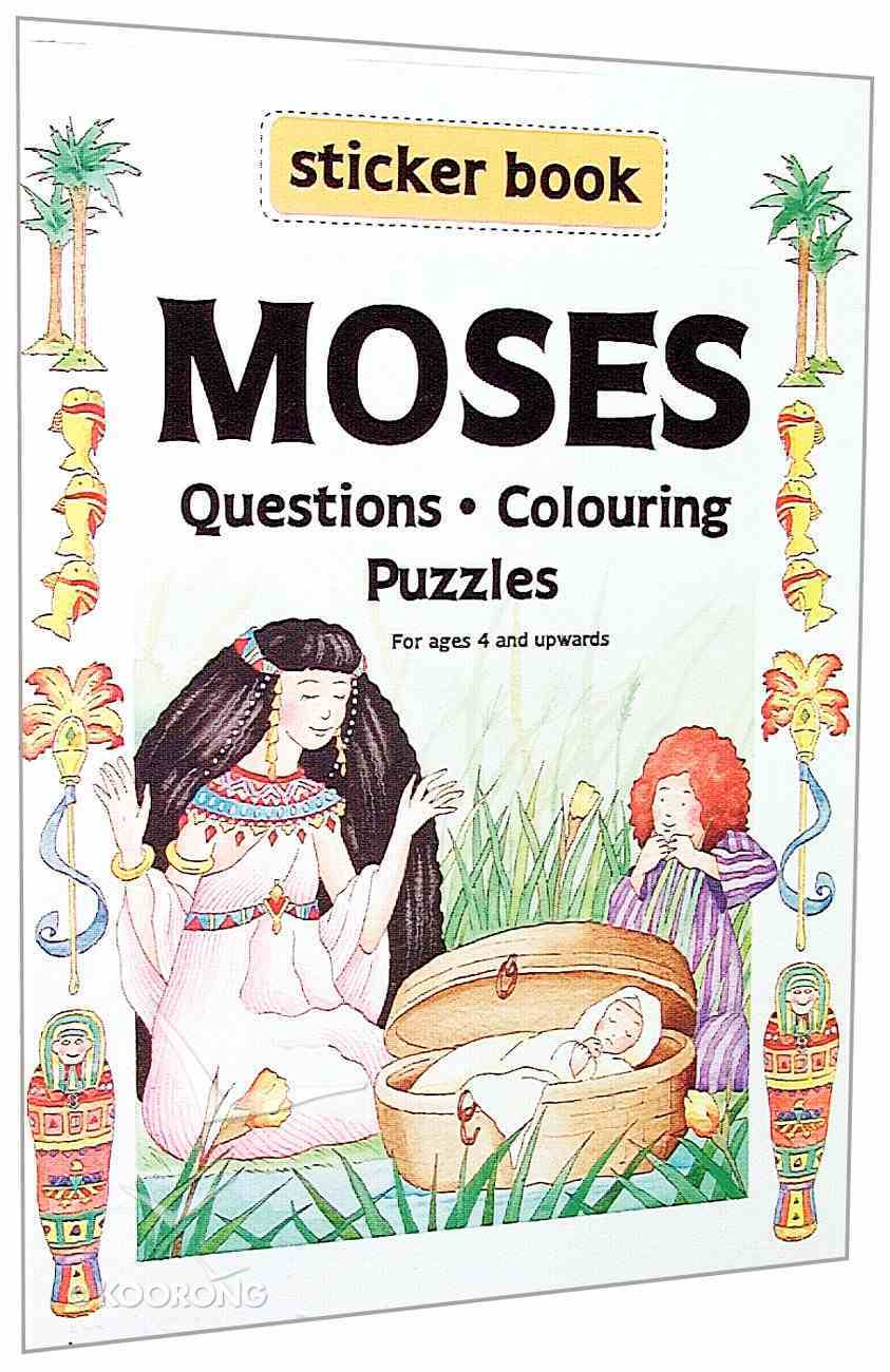 Your Favourite Sticker Book: Moses Paperback