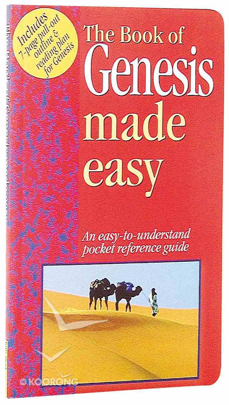 Genesis Made Easy (Bible Made Easy Series) Paperback