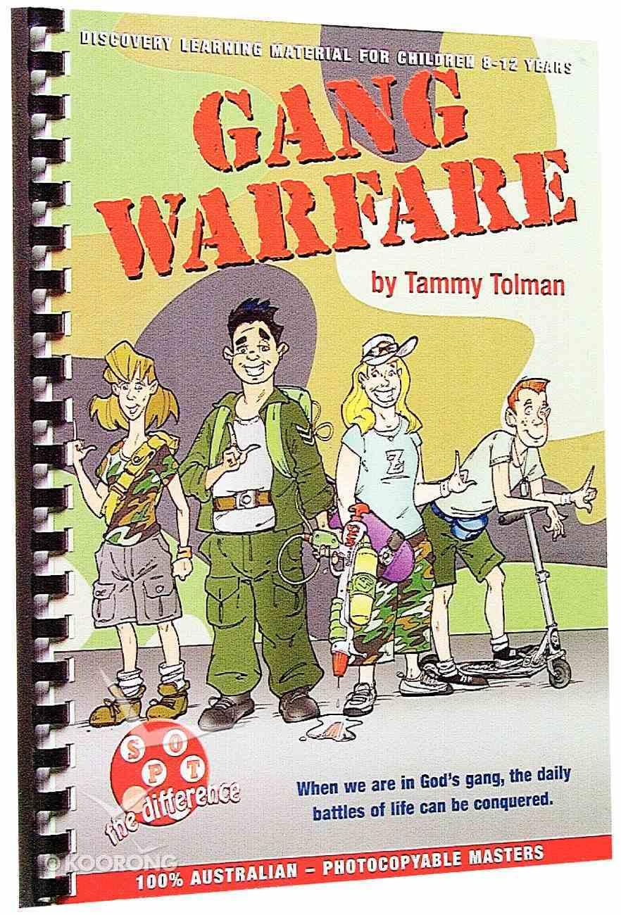 Gang Warfare (Spot The Difference Curriculum Series) Spiral