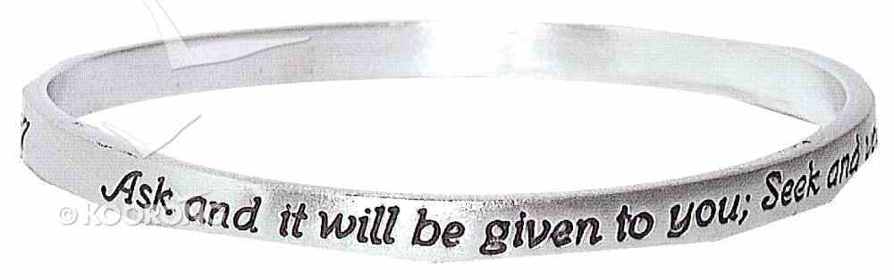 Bracelet: Ask It Will Be Given Jewellery