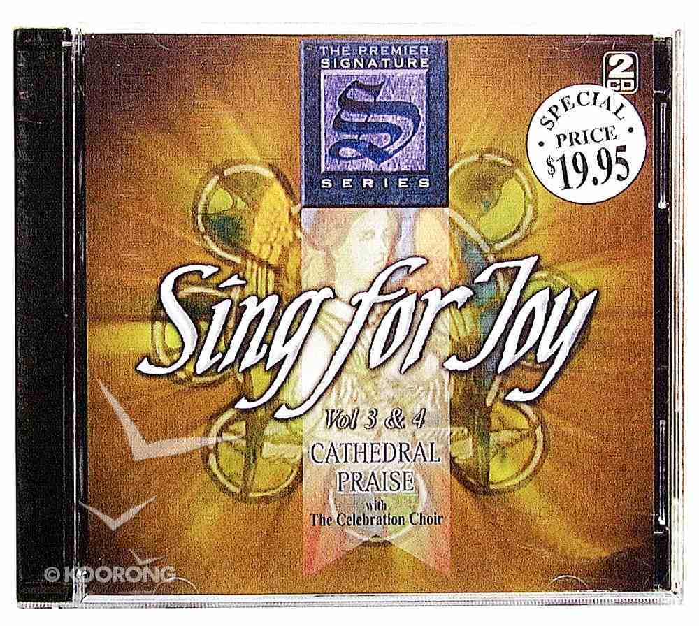 Sing For Joy Volumes 3&4 CD