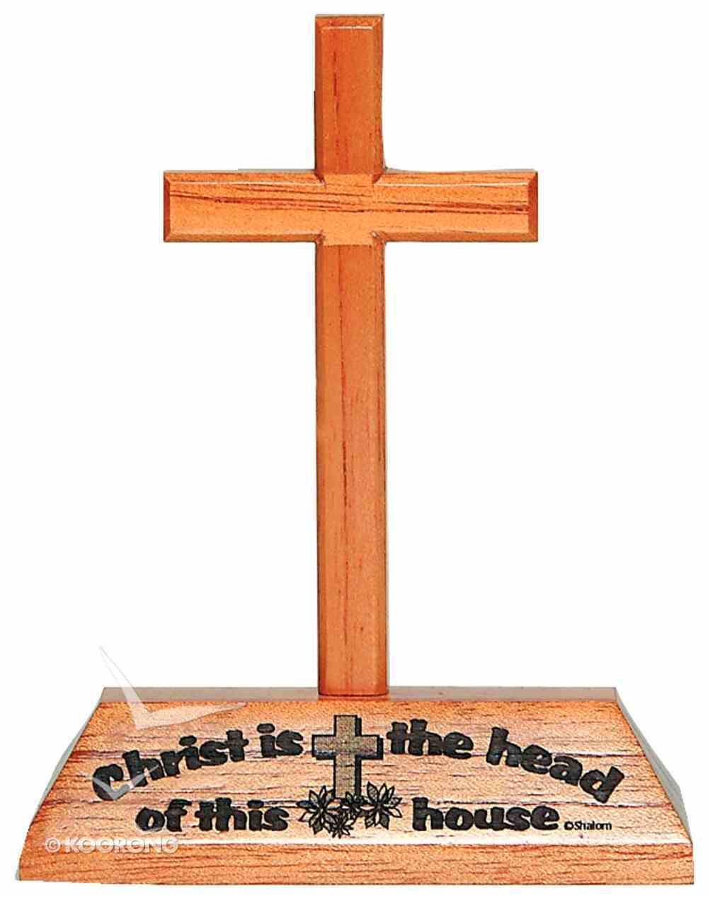 Cross on Stand: Christ is the Head Homeware