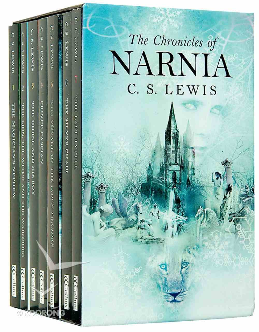 The Chronicles of Narnia (7 Titles in Slipcase) (Chronicles Of Narnia Series) Pack
