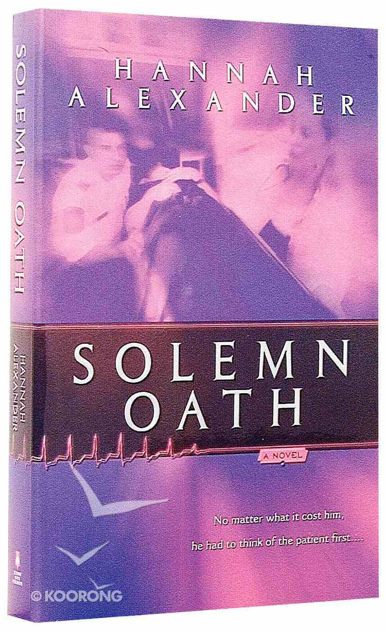Solemn Oath (#02 in Sacred Trust Series) Paperback