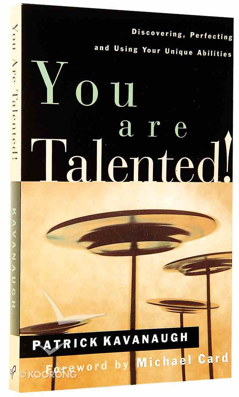 You Are Talented! Paperback