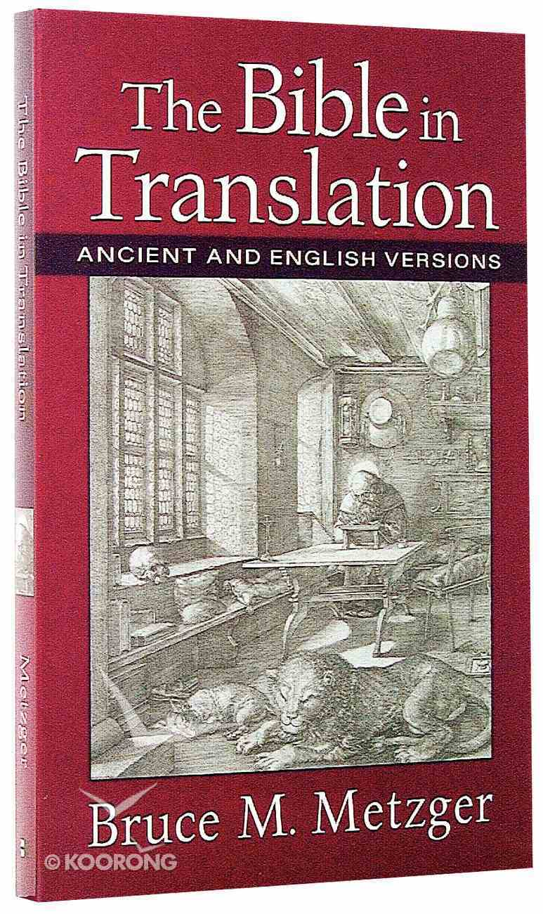 The Bible in Translation Paperback