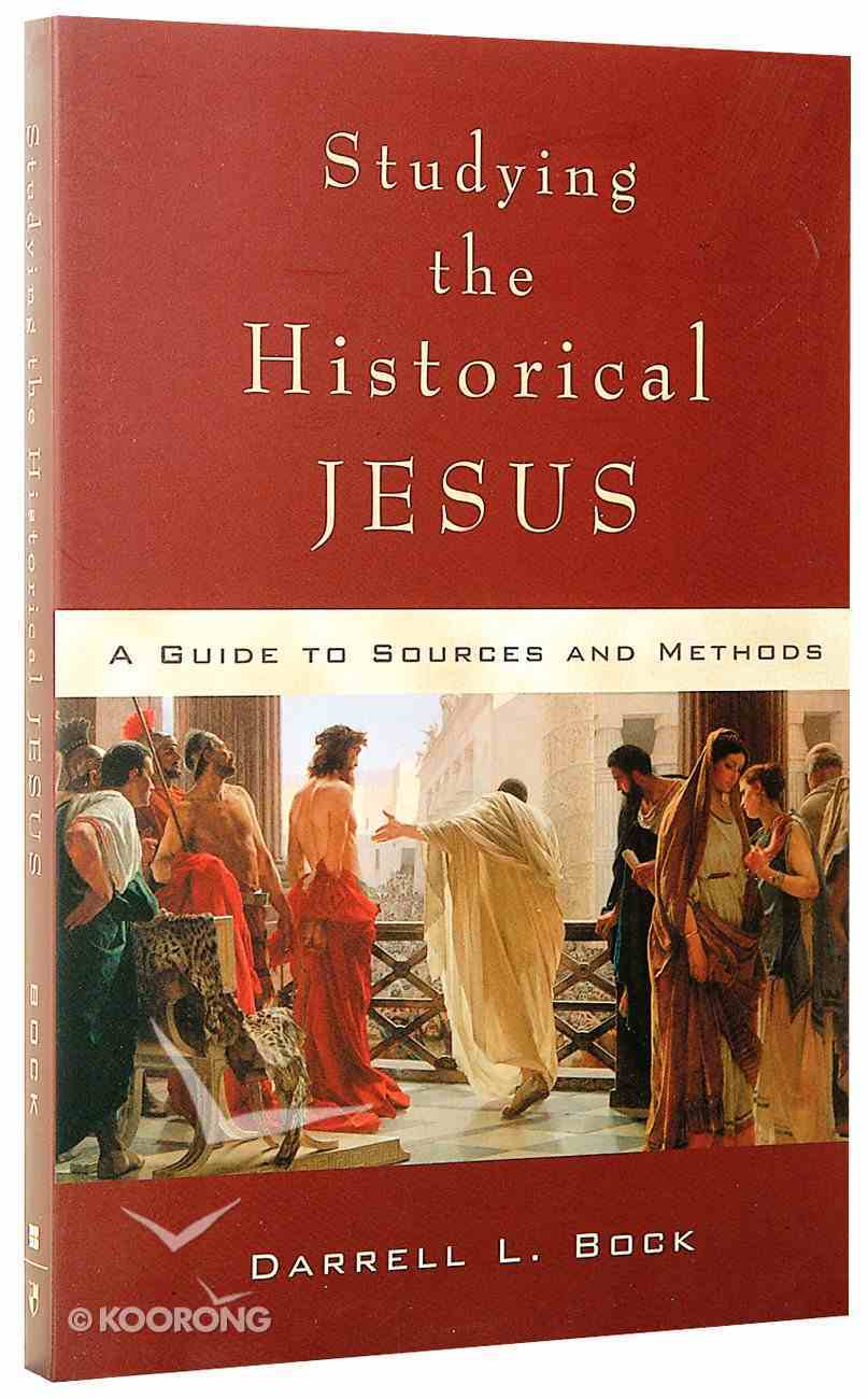 Studying the Historical Jesus Paperback