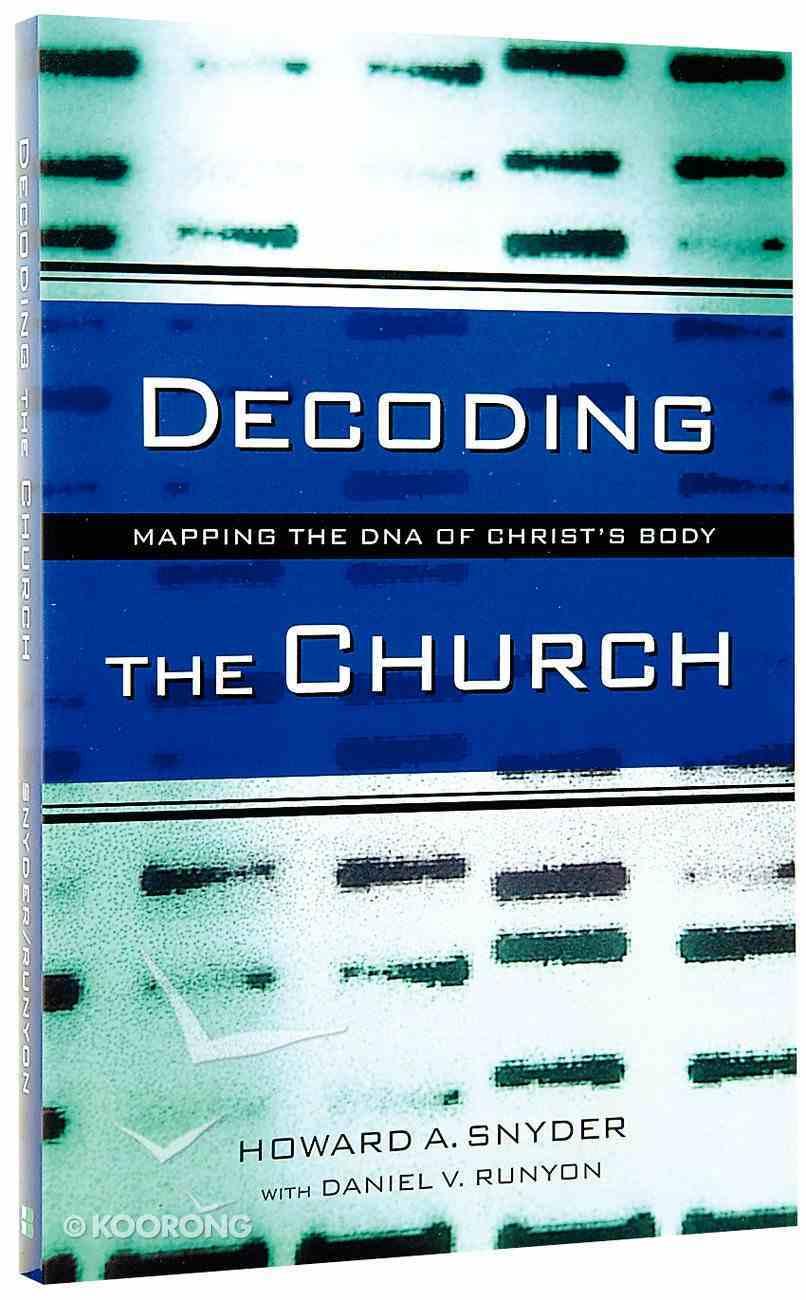 Decoding the Church Paperback