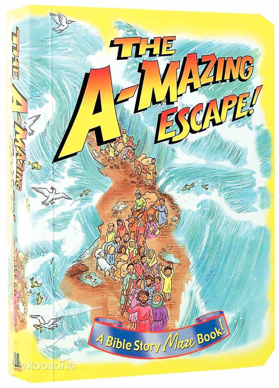 The A-Mazing Escape Board Book