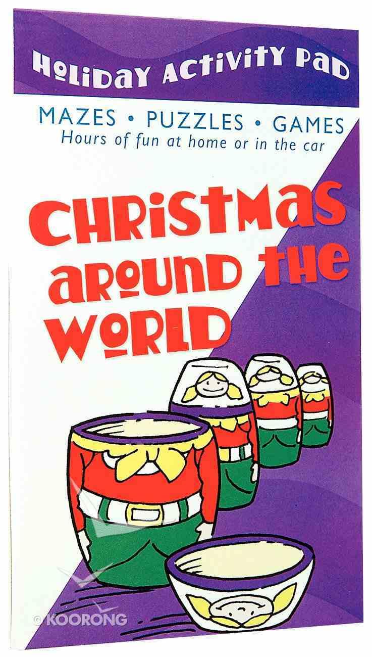 Holiday Activity Pad: Christmas Around the World Paperback
