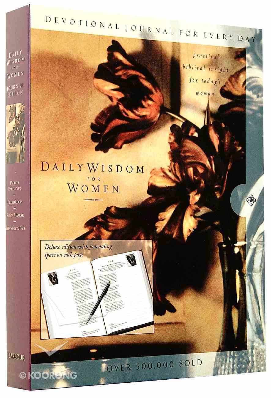 Daily Wisdom For Women (Devotional Journal) Hardback