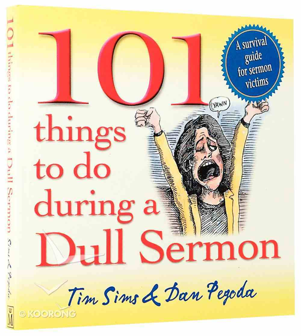 101 Things to Do During a Dull Sermon Paperback