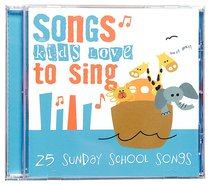 Album Image for 25 Sunday School Songs Kids Love to Sing - DISC 1