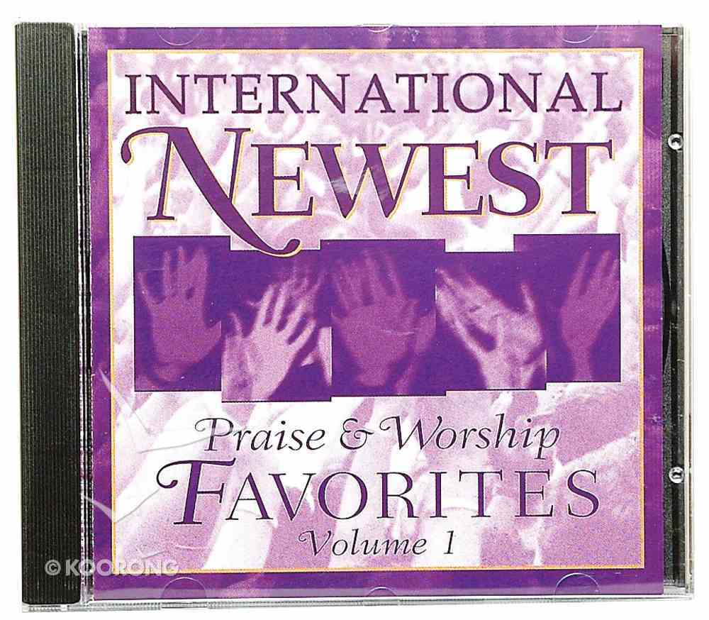 International 25 Favourite Newest Praise & Worship Volume 1 CD