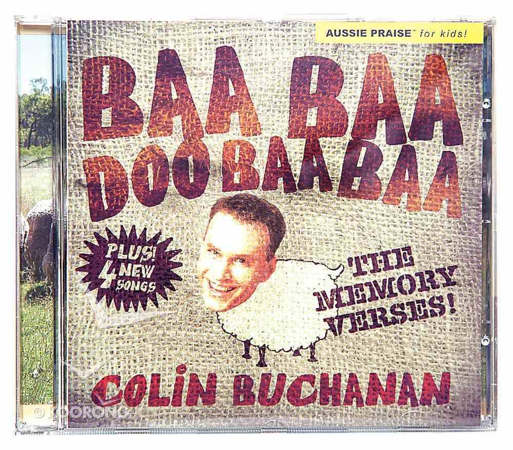 Baa Baa Doo Baa Baa: The Memory Verses CD
