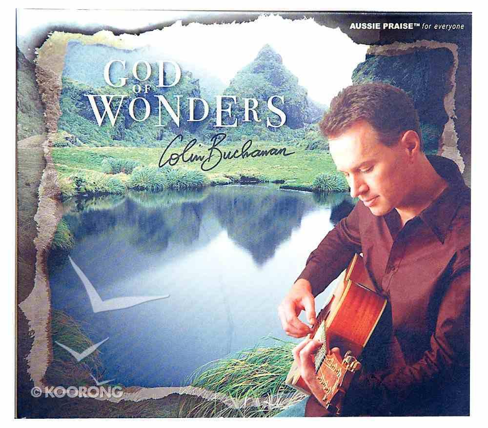 God of Wonders CD