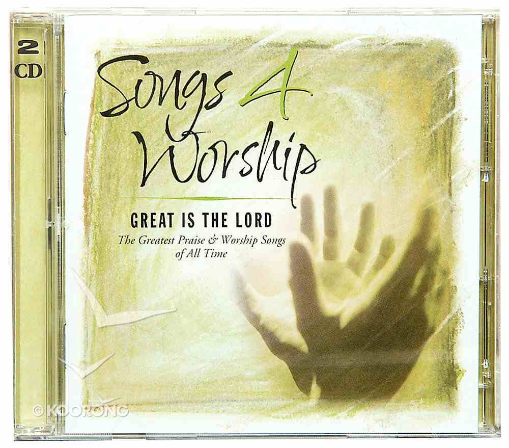 Great is the Lord (#05 in Songs 4 Worship Series) CD