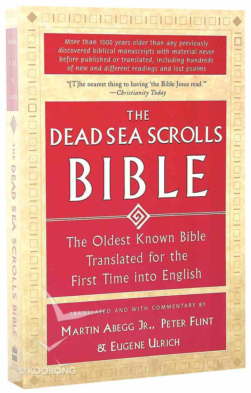 The Dead Sea Scrolls Bible Paperback