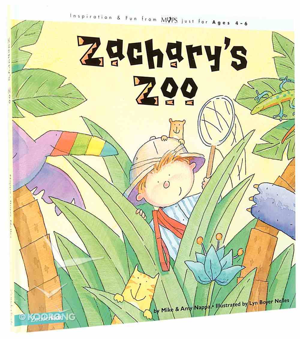 Zachary's Zoo Board Book