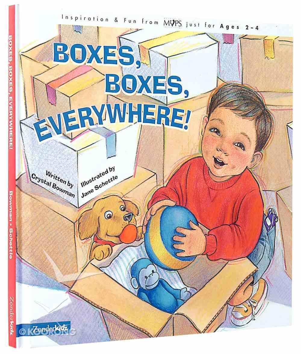 Boxes, Boxes Everywhere! Hardback