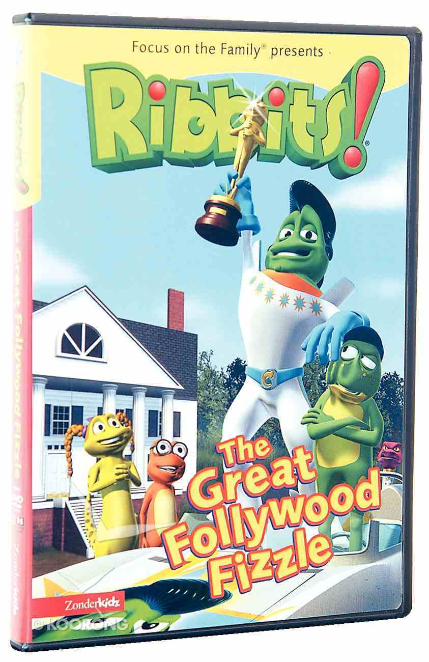 The Ribbits #03: Great Follywood Fizzle (#03 in Ribbits Dvd Series) DVD