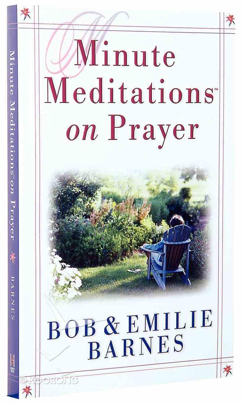 Minute Meditations on Prayer Paperback