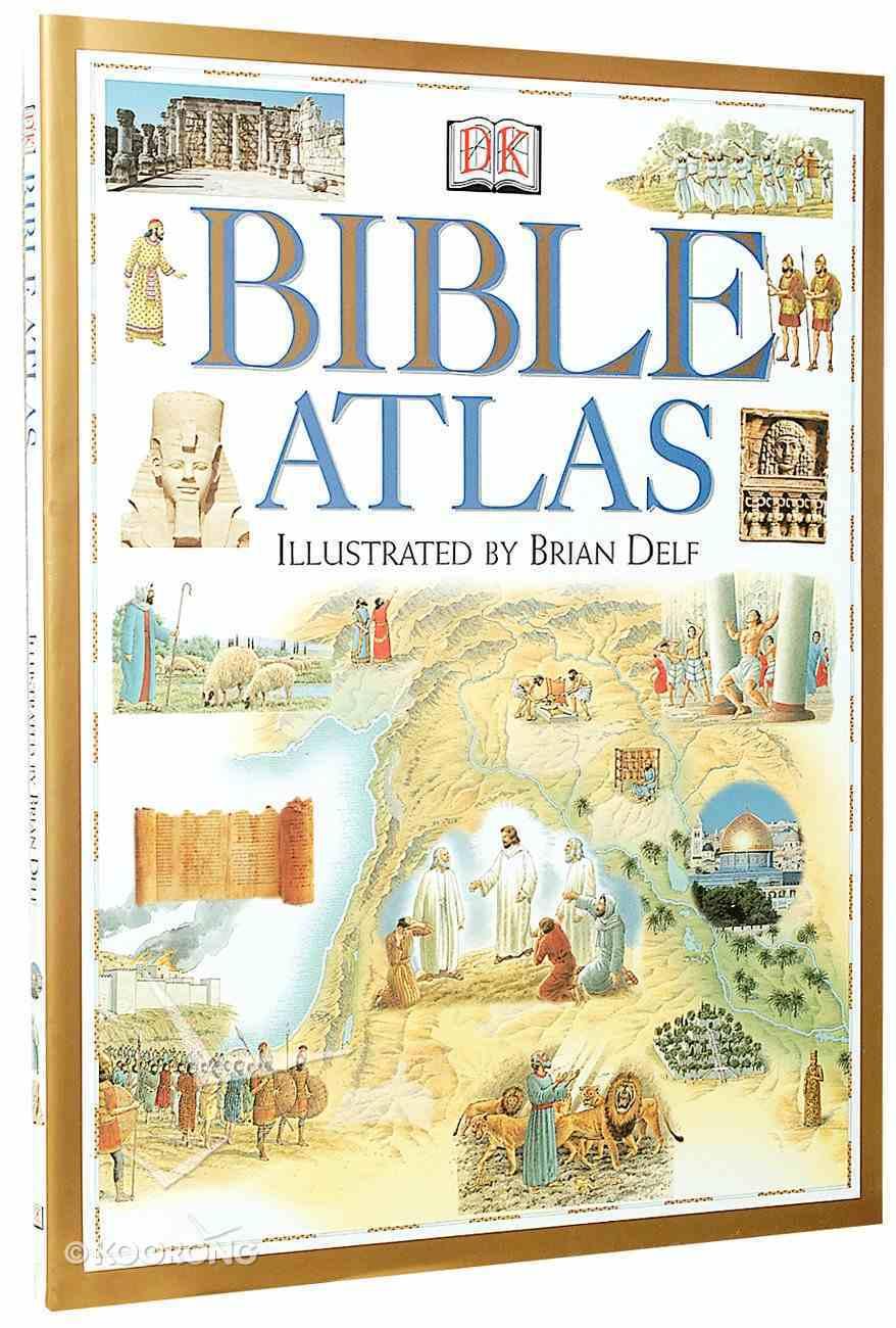 Dk Bible Atlas Hardback