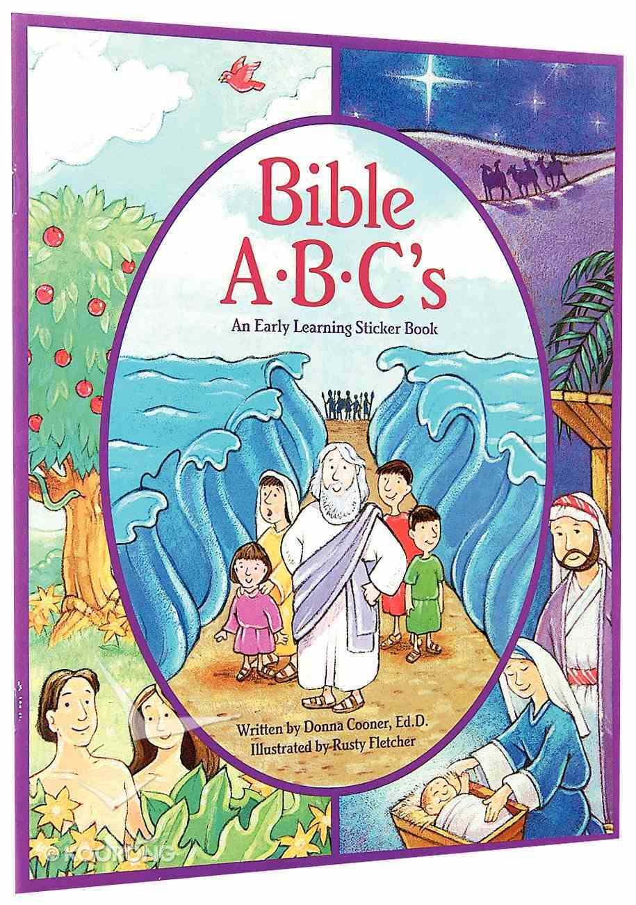 Bible Abc's (Early Learning Sticker Book Series) Paperback