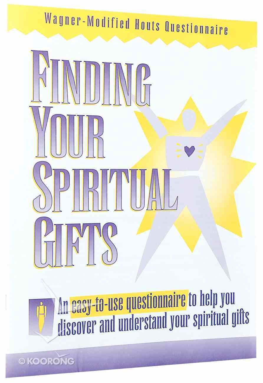 Finding Your Spiritual Gifts: Personal Inventory Paperback