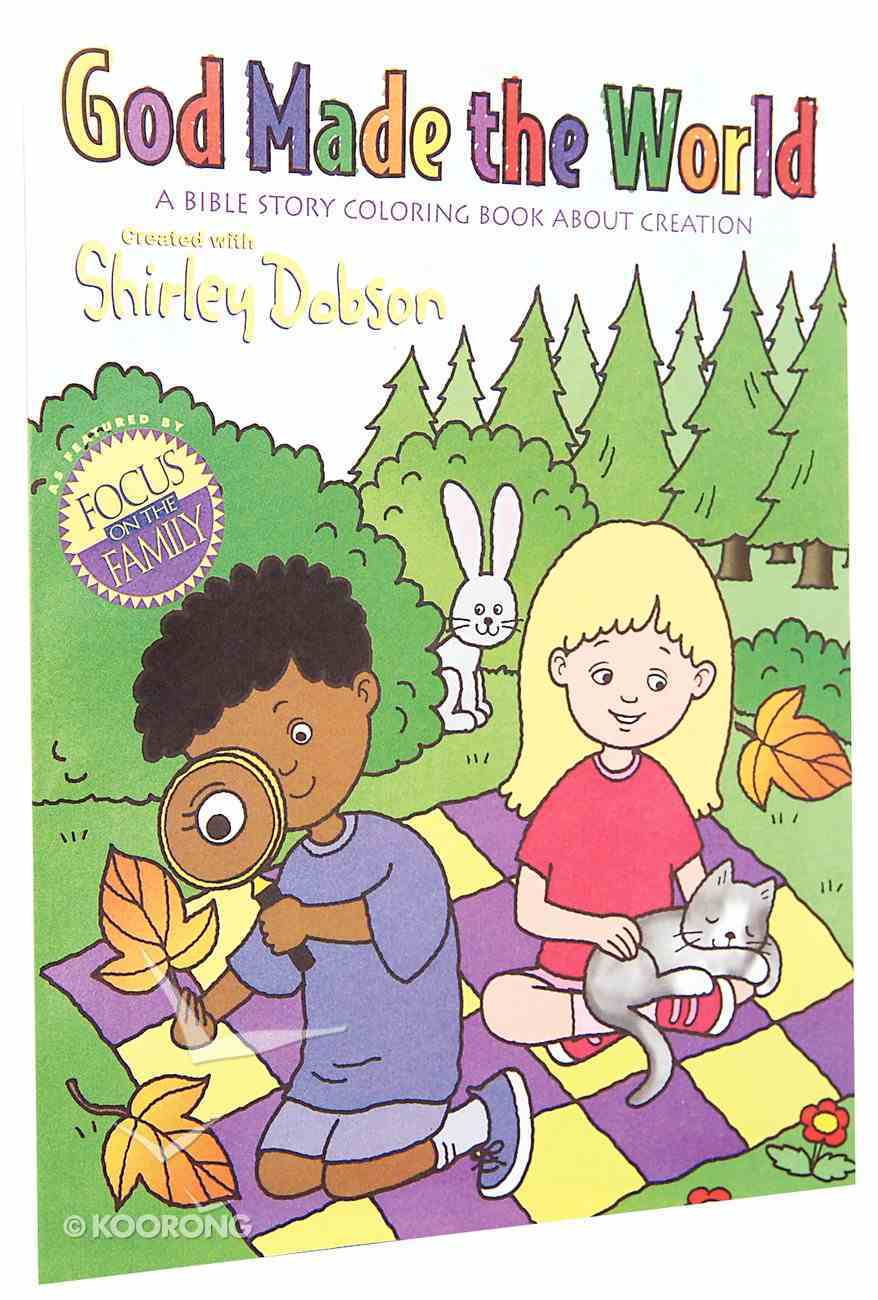 Colouring Book: God Made the World (Shirley Dobson Colouring Books Series) Paperback
