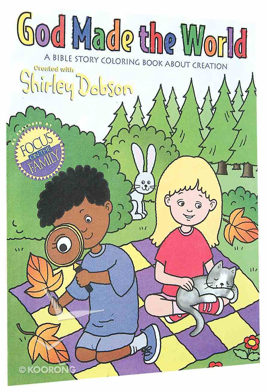Colouring Book: God Gives Me Joy (Shirley Dobson Colouring Books Series) Paperback