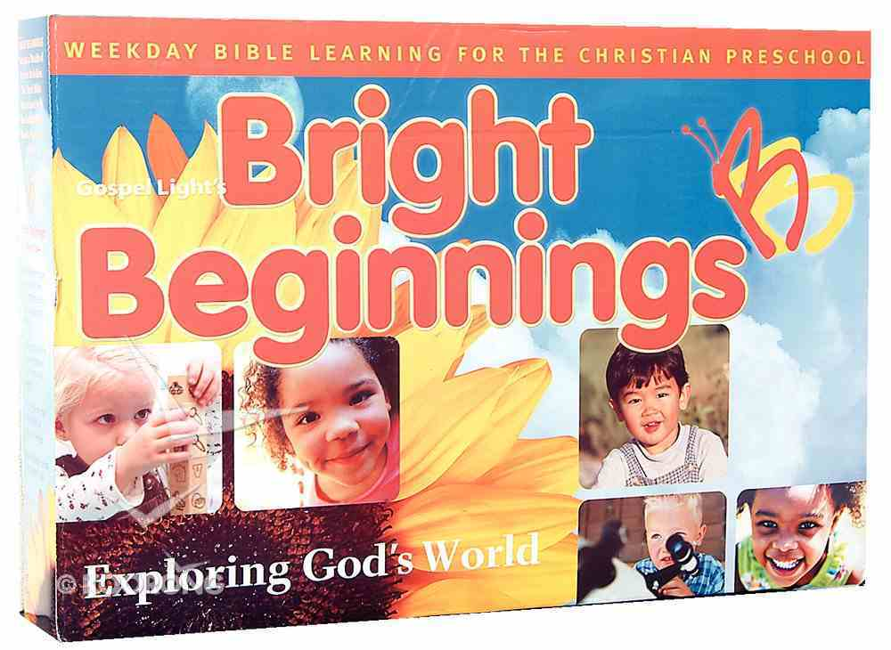 Bright Beginnings: Exploring God's Word Pack