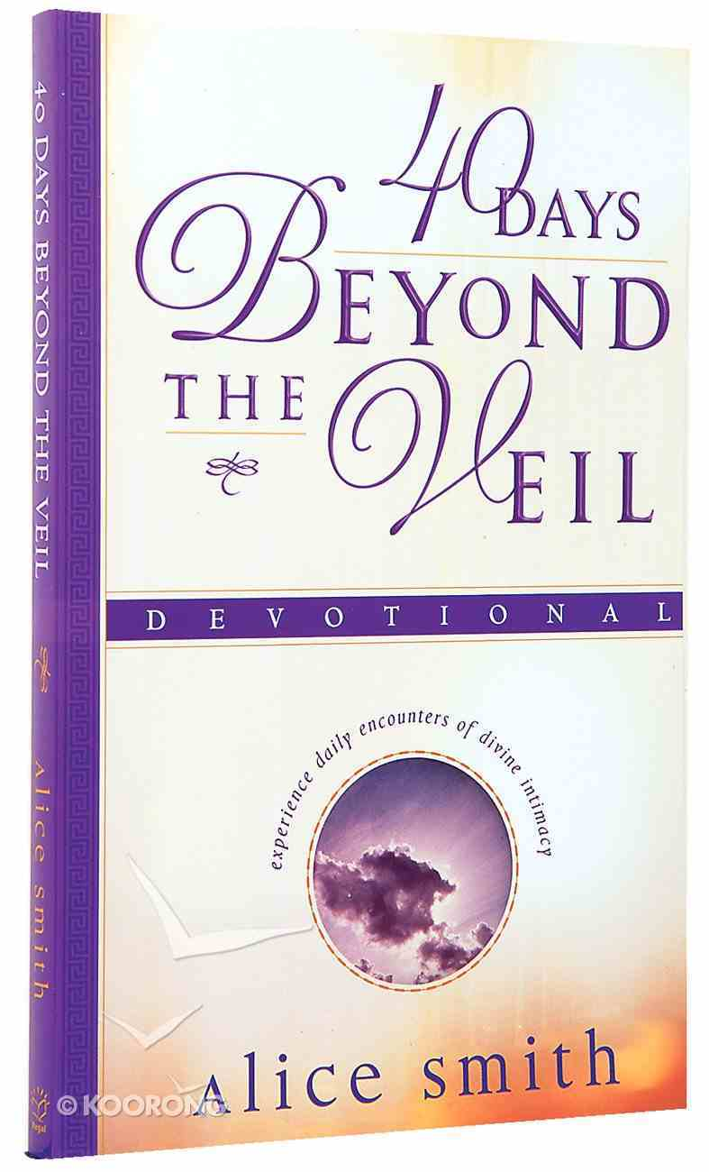 40 Days Beyond the Veil Devotional Paperback