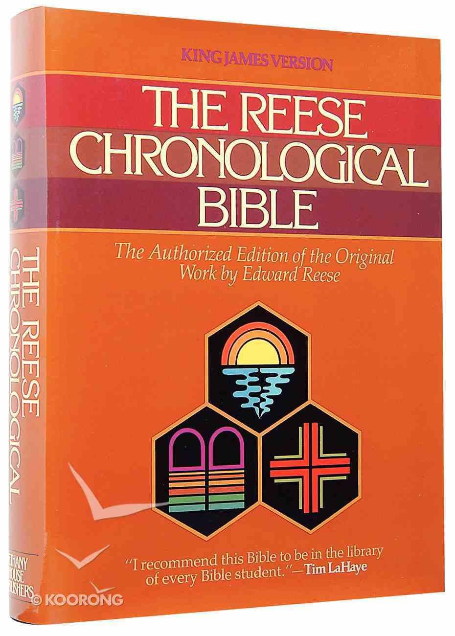 KJV Reese Chronological Bible Hardback