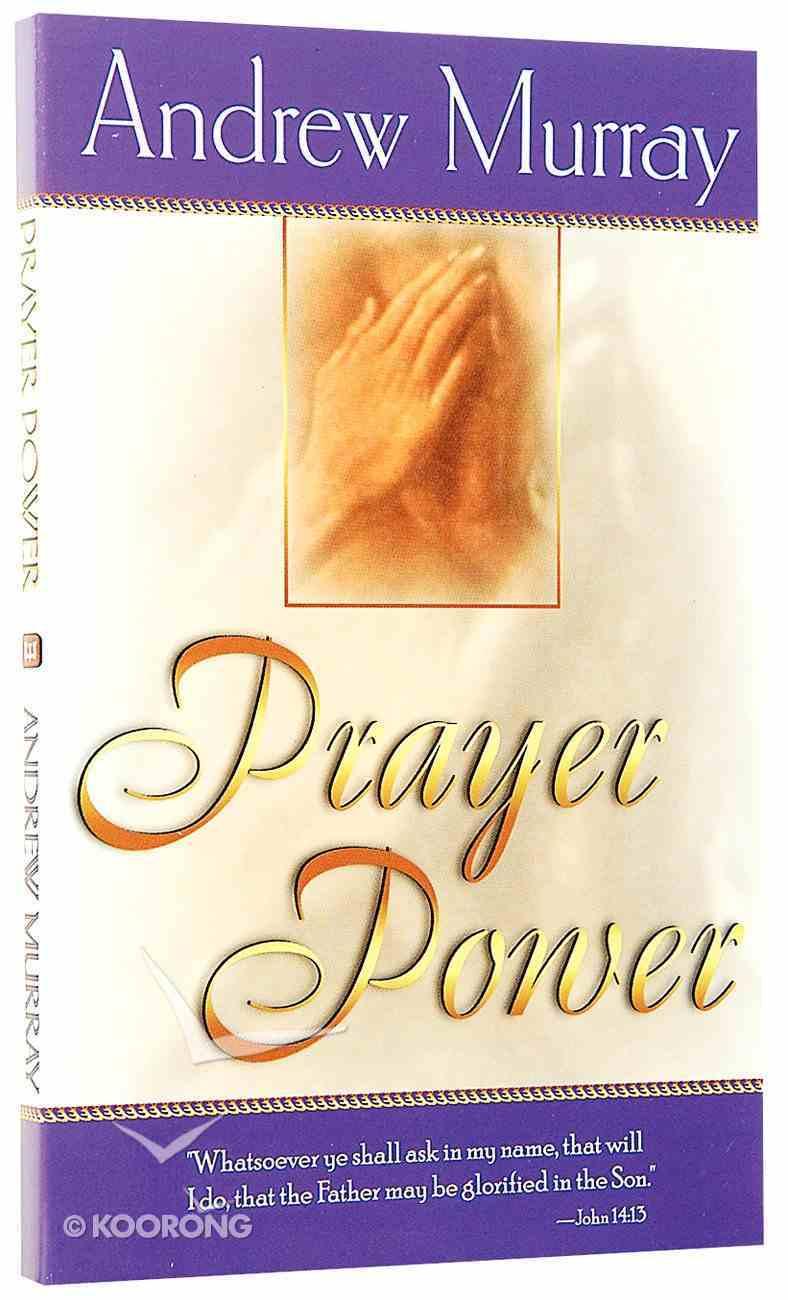 Prayer Power Paperback