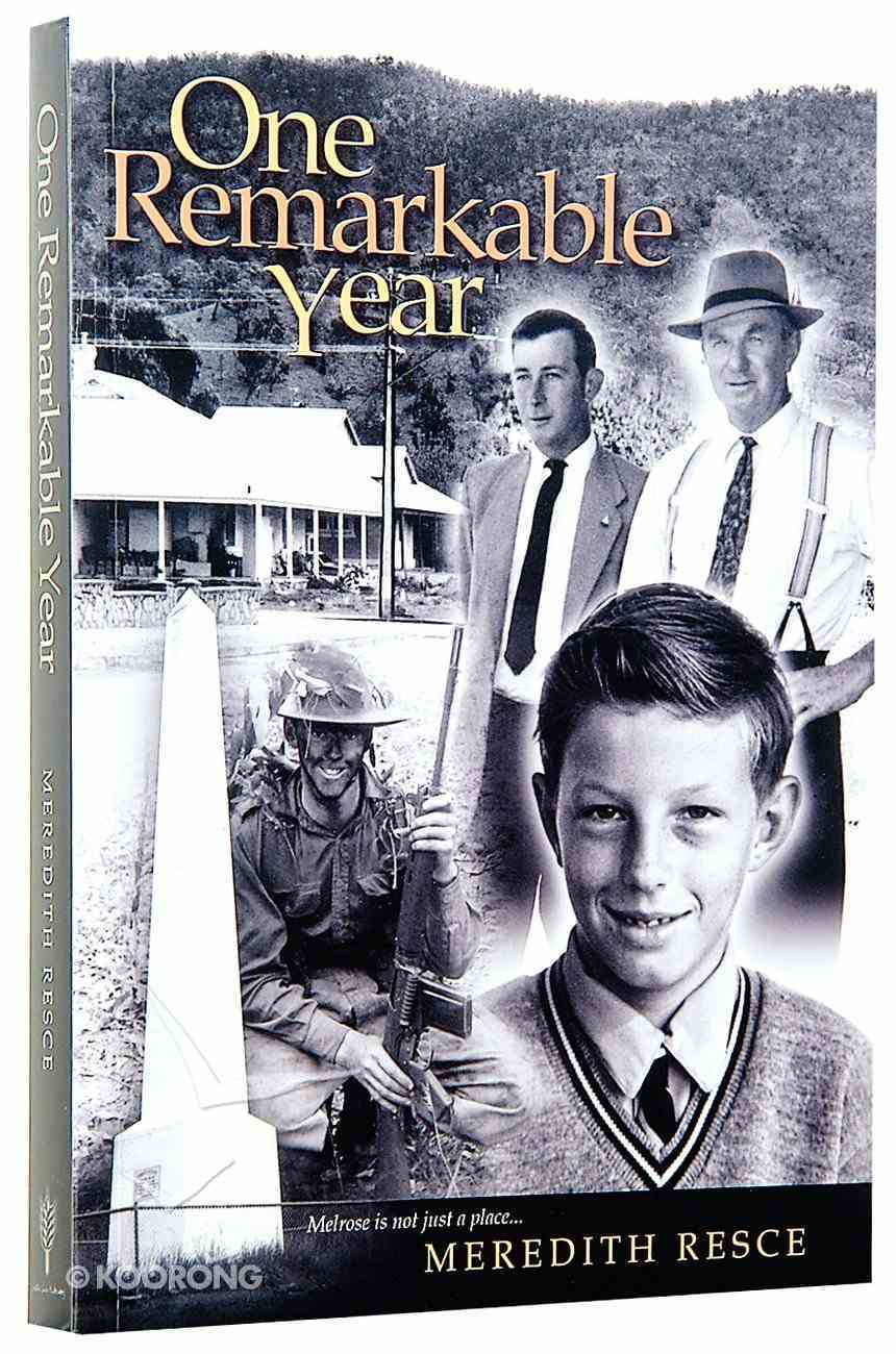 One Remarkable Year Paperback