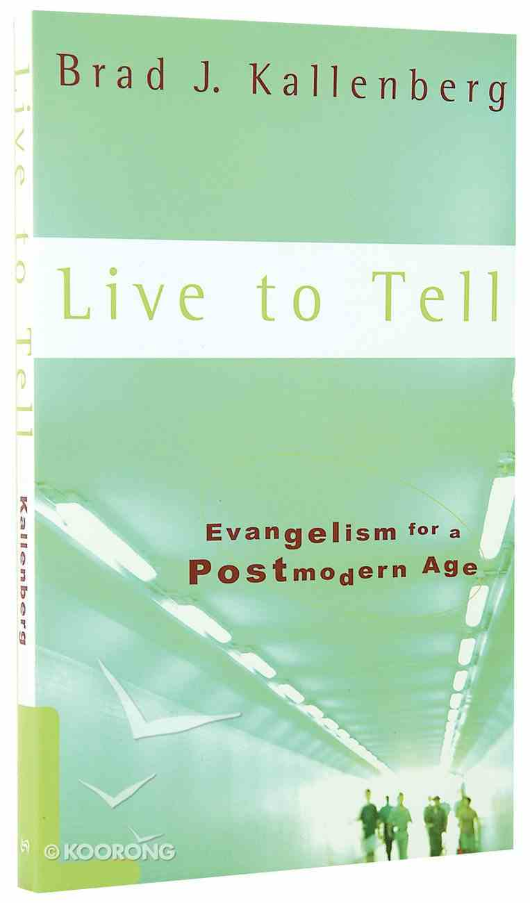 Live to Tell Paperback