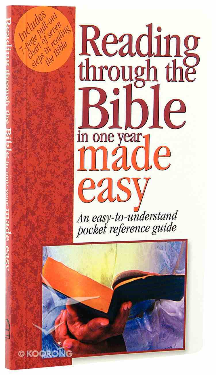 Reading Through the Bible Made Easy (Bible Made Easy Series) Paperback